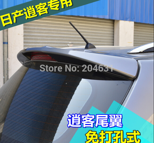 Unpaint Factory Style ABS Spoiler Wing For 2007 2008 2009 2010 2011 Qashqai air fast ship<br><br>Aliexpress