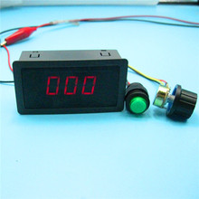 DC 6-30V 12V 24V MAX 8A MOTOR PWM SPEED CONTROLLER WITH DIGITAL DISPLAY & SWITCH(China)