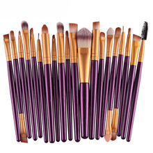 Professional 20 pcs Makeup Brush Set Make-up Toiletry Kit Brand Make Up Brush Set Cosmetics tools For Women  2016