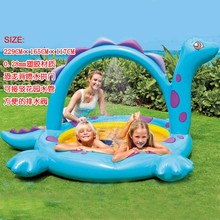 Children Outdoor Fun & Sports Inflatable Toys Wading Pool /Bathtub Sand Pool /Ocean Ball Pool Free Shipping