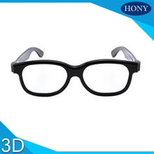 1pcs Free Shipping.Hony Universal type Plastic 2D Glasses can see the 3D movie in 2D, there is no double image(China)
