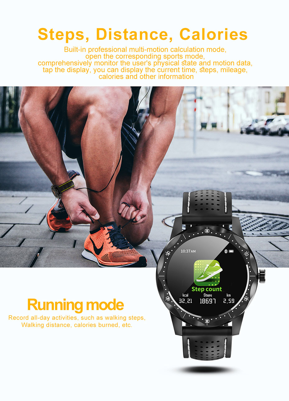 COLMI SKY 1 Smart Watch Men IP68 Waterproof Activity Tracker Fitness Tracker Smartwatch Clock BRIM for android iphone IOS phone 03