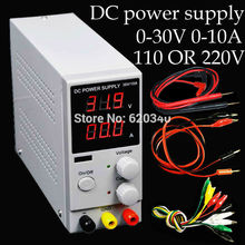 30v 10a K3010D Mini Switching Regulated Adjustable DC Power Supply SMPS Single Channel 30V 5A Variable 110V OR 220V(China)
