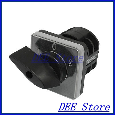AC 440V 10A 3 Positions 8 Screw Terminals Universal Combination Switch<br><br>Aliexpress