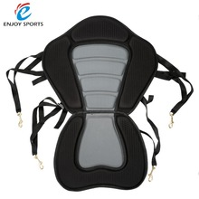 Fishing Canoe Kayak Seat Backrest Cushion Deluxe Padded Kayak Rowing Boat Seat Soft and Antiskid Padded Base High Backrest(China)
