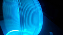 5m/lot 6.0mm Side Glow PMMA Fiber Optic Cable for Outline of the decoration