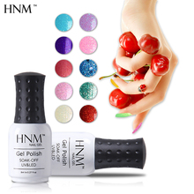 HNM 8ML Rough Color Nail Gel Polish Quick Dry UV Gel Nail Polish Gel Varnish Lak Gelpolish Vernis Semi Permanent Lacquer