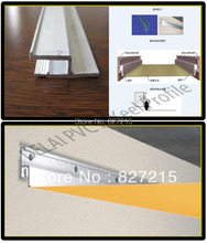 Aluminum Profile Flat Code for Stretch Ceilings