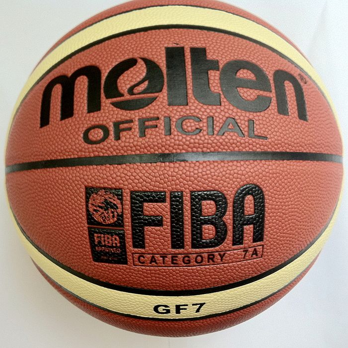 NEW Brand High Quality Molten GF7 Basketball Ball leather Official Size7 Basketball Free With Net Bag+ Needle+Pump(China (Mainland))