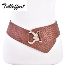 Talleffort Women's Fashion Elastic Waist Belt Cinch