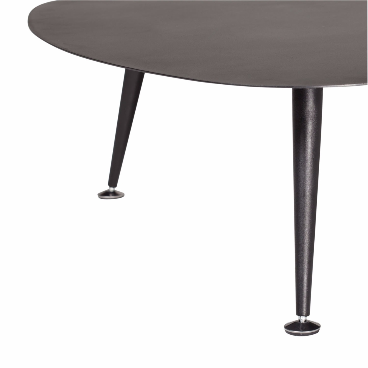 Offex Trilateral Accent Table 29, Black (5)