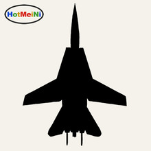 HotMeiNi F-14 Fighter Car Sticker Window Bumper Pilot Fly Aircraft Jet Bomber Combat fighter Vinyl Decal For Truck Window Bumper(China)