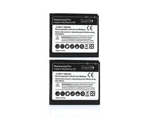 2X Phone Replacement 1600mAh Battery Batteries For HTC Desire HD G10 Inspire 4G Ace BD26100 A9191 T8788(China)