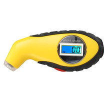 Tyre Air Pressure Gauge Meter Electronic Digital LCD Car Tire Manometer Barometers Tester Tool For Auto Car Motorcycle(China)