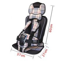Top Selling Portable Baby Car Safety Seat,Big Size 7 Colours Car Seat Children Chairs in the Car,Auto Seats Cushion Booster Seat(China)
