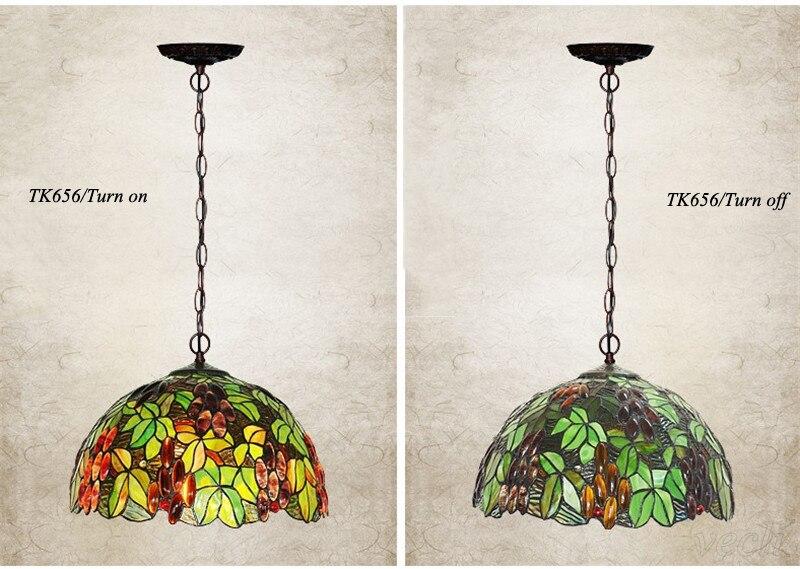 Tiffany hanging lamp light (13)