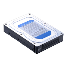 Uneatop Dual 2.5 to 3.5 SATA  adapter 2.5 HDD/SSD  enclosure external converter mobile rack