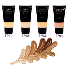 4pcs/Set Bb Cream Matte Liquid Foundation Concealer Moisturizer Whitening Face Contour Freckle Removing Anti-Wrinkle Makeup(China)