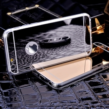 Buy Transparent Clear TPU Luxury Bling Mirror Case Iphone 6 6S 6Plus 7 5 5s SE Case Flexible Soft Cover Iphone7 8 plus X for $1.01 in AliExpress store