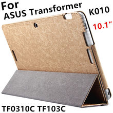 Case For ASUS Transformer Pad TF0310C Protective Smart cover Leather Tablet For TF103C TF103CG K010 10.1inch PU Protector Sleeve