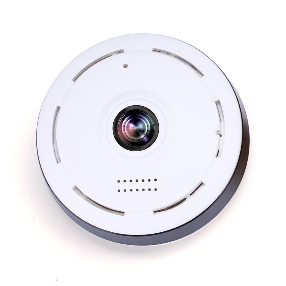 Night vision 360Degree network Camera 1.8mm 960P   Fisheye video Camera Quad View Mini VR HD P2P IP Camera Support 128GB TF Card<br>