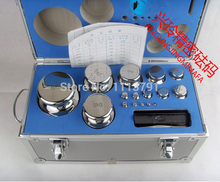 F1 Grade 28 pcs 1mg-5kg 304 Stainless Steel Digital Scale Calibration Weights Kit Set w Certificate, precision Packed