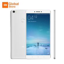 "Original Xiaomi Mi Max Pro 64GB ROM 6.44"" 4850mAh Mobile Phone Snapdragon 652 Octa Core 1920x1080P 3GB RAM Fingerprint ID"