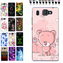 Lovely Cute Pink Bear Girl TPU Mobile Phone Case for Prestigio Grace Q5 PSP5506DUO