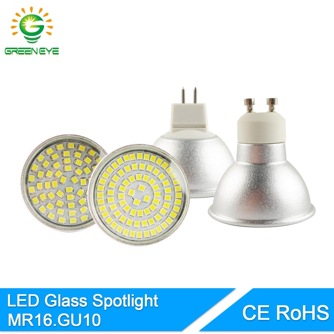 GreenEye-High-Bright-Glass-Aluminum-font-b-MR16-b-font-GU10-font-b-LED-b-font Verwunderlich Gu 5.3 Led 230v Dekorationen