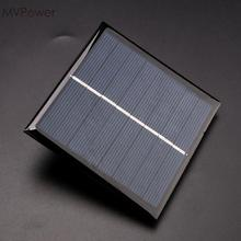 MVpower 1W 4V Solar Panel Charger Board Power Bank Pack Silicon Portable Compact(China)