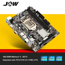 JW Intel H110M-D2H Motherboard LGA 1151 DDR4 Board for Computer new original Desktop board VGA/HDMI/USB2.0/PCI-E 3.0/PCI-E X16(China)