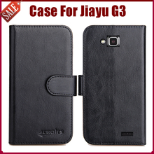 Hot Sale! Jiayu G3 Case New Arrival 6 Colors High Quality Flip Leather Protective Cover For Jiayu G3 Case Phone Bag(China)