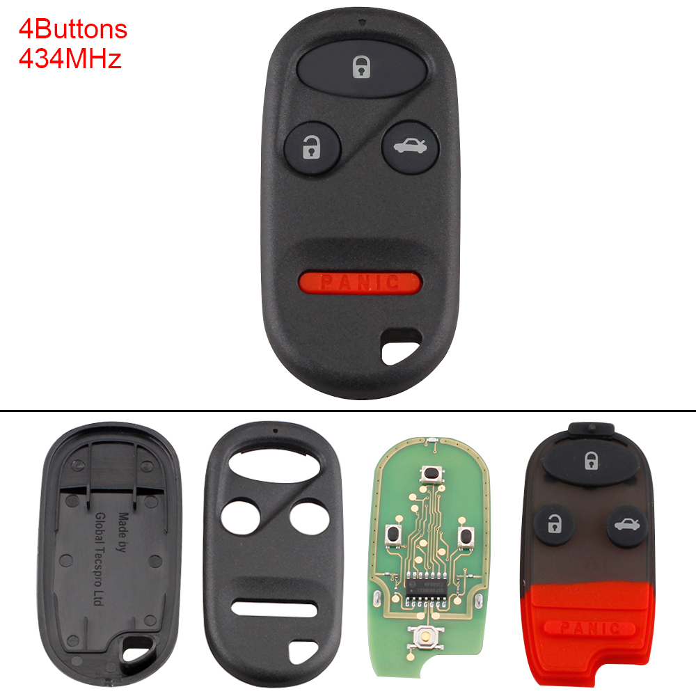 2 Pack Discount Keyless Entry Remote Car Key Fob Compatible with Honda A269ZUA101