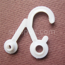 Plastic Snap Header Hook, shirt dress underwear sock stocking towel locked display hooks clothing head card bag package hangers