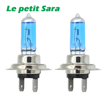 Buy 2Pcs H7 Halogen Bulb Super Xenon White Fog Lights High Power 100W Car Headlight Lamp Car Light Source parking auto 12V 24V for $2.19 in AliExpress store