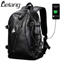 Lielang бренд рюкзак Для мужчин Внешний USB зарядки Для мужчин Анти-кражи компьютера 15.6 дюймов Водонепроницаемый ноутбука Рюкзаки Новый 2017(China)