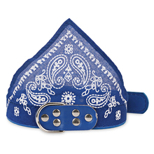 Dog Bandana Neckerchief Adjustable Pet Dog Collar Puppy Cat Scarf Collar Paisley Pattern Pet Accessories 7 Colors 4 Size 2