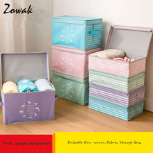 Non-woven Clothing Storage Box Toy Storage Box Lid Cosmetics Storage Box Underwear Storage Boxes Sundries Container Organizer