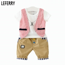 Buy Kids Clothes Boys Baby Clothing Set Summer Toddler Boys Clothing Vest T shirt + Shorts 2016 New Fashion Children Boy's Clothes for $11.91 in AliExpress store