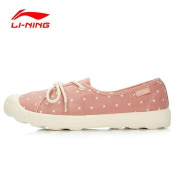 Li-Ning Women's Light Stylish Walking Shoes Leisure EVA Lifestyle Footwear Sneakers Breathable Sports Shoes GLAL098 YXB022