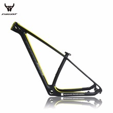 Cheap Carbon mtb frame 27.5er ud 15/17/19  mountain bike 27.5 racing used bikes bicycle frame with free shipping