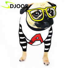 Eye Dog Embroidered Patches for Clothing Biker Motorcycle Cartoon Iron-on Applications Patches for Clothes Tops Jeans Jackets