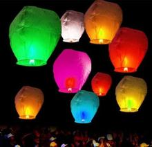 Sky Lanterns Chinese Paper hot air Balloons Candle Wishing Wedding Party Flying Lamp photography props festive decoration