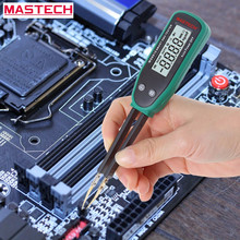 MASTECH MS8910 SMD Tester Detector 3000 Counts Digital Multimeter Smart Resistance Capacitance Diode Meter Auto Scan LCD Display(China)