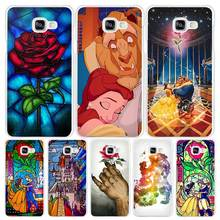 Beauty Beast Hard White Coque Shell Case Cover Phone Cases Samsung Galaxy A3 A5 A7 2016 2017 A8 A9 - Madivan Store store
