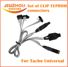 Set of CLIP EEPROM Connectors for Tacho Universal DIP-8CON,SOIC-14CON and SOIC-8CON July Version Tacho Pro 2008.07
