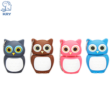 KRY novel cute owl USB flash drive USB 2.0 4GB 8GB 16GB 32GB 64GB U disk flash pen creative cartoon bird memory stick 3.0 U disk(China)