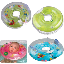 new2015 New 1PC New Baby Aids Infant New Born Bady Swimming Neck Float Ring Safety Sale  5W7H