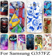 Soft TPU Hard Plastic Cases for Samsung Galaxy Ace 4 LTE G357FZ 4.3 inch Ace 4 Style LTE Cases skin Back Cover PC Skin Shell Bag