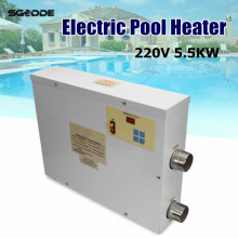 Water Sports 5.5KW 220V Electric Swimming Pool and SPA Bath Heating Tub Water Heater Thermostat 220V Swimming Pool Accessories(China)